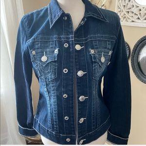 True religion jean jacket!  Like new!!